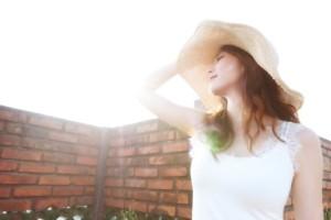 外に出て日の光を浴びる